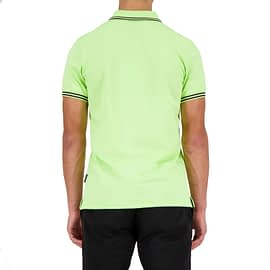 Airforce Polo Double Stripe Groen HRM0655-Y024-901 back