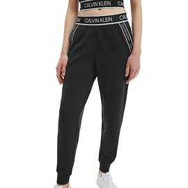 Calvin Klein Knit Pants Zwart Dames 00GWS1P602-007 model front