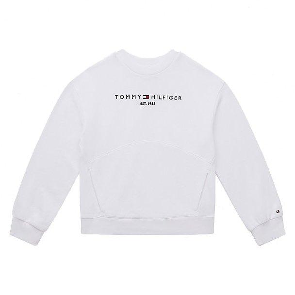 Tommy Hilfiger Essential Sweatshirt Wit KG0KG05764-YBR front main
