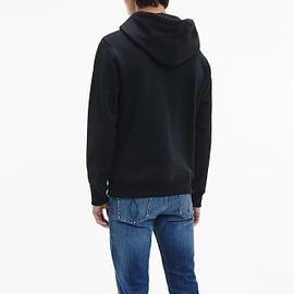 Calvin Klein Monogram Hoodie Zwart J30J314557-BEH back