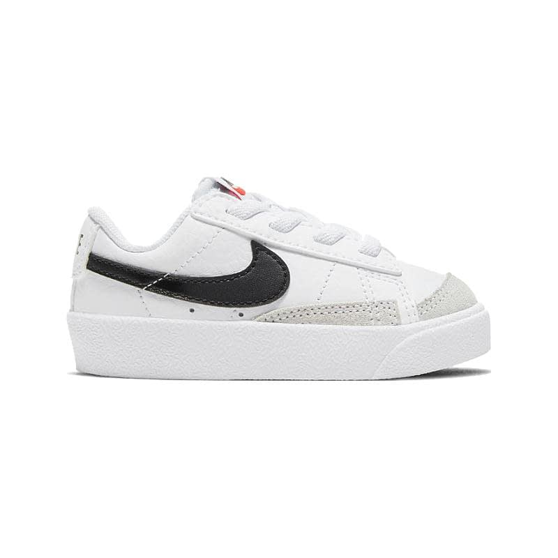 Nike Blazer Low Wit-Zwart DA4076-101 side main
