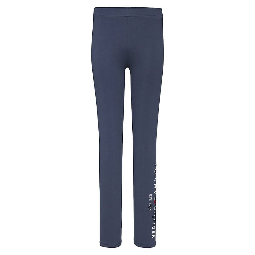 Tommy Hilfiger Essential Legging Donkerblauw KG0KG05183-C87 front main