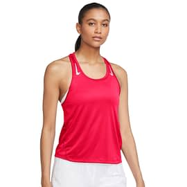 Nike Miler Hardloopshirt Rood CZ1046-635 front main
