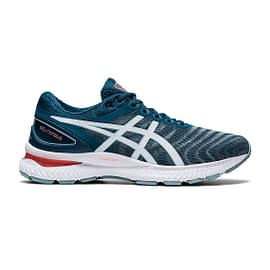 Asics Gel-Nimbus 22 Blauw heren 1011A680-404 side main