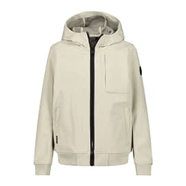 Airforce Softshell Jacket Jongens Bone White HRB0575-y021 front main