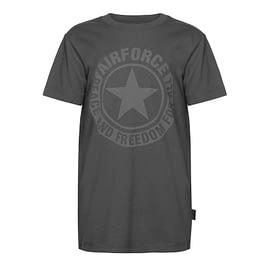 Airforce Logo T-Shirt Gun Metal TBB0730-970 front main