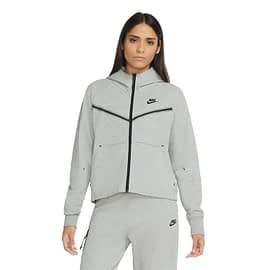 Nike Tech Fleece Vest Dames Grijs front main model