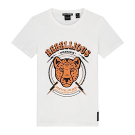 Nik&Nik Rebellious T-Shirt Off White front main