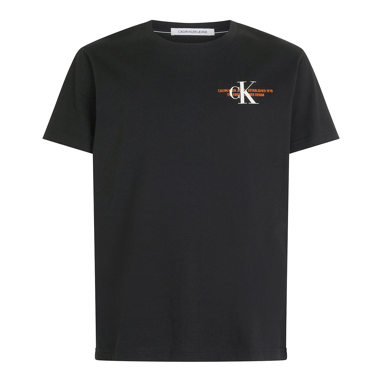 Calvin Klein CK Urban Graphic T-Shirt Zwart J30J318309-BEH main