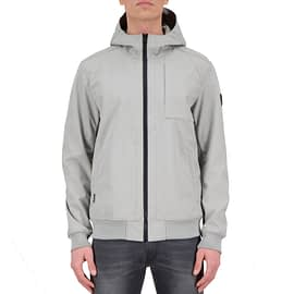 Airforce Softshell Jacket Poloma Grey HRM0575-804 model front