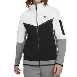 Nike Tech Fleece Hoodie Wit-Zwart CU4489-101 main