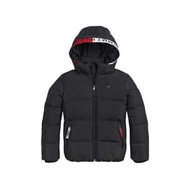 Tommy Essential Padded Jacket Zwart front