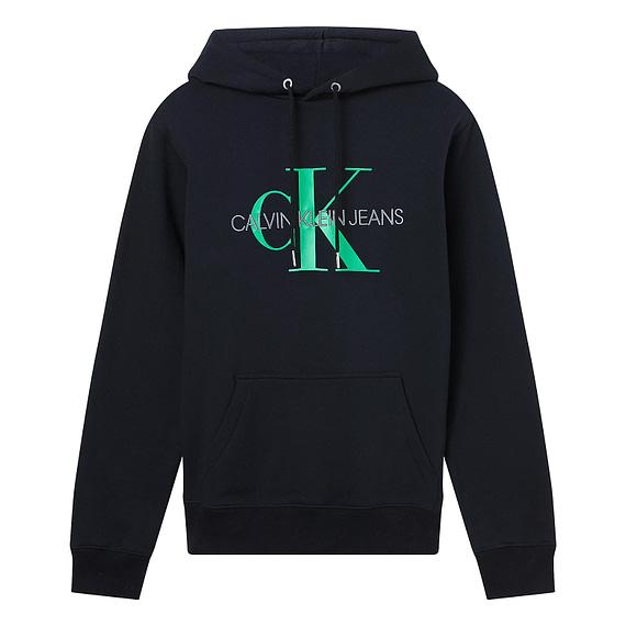 Calvin Klein Monogram Hoodie Zwart J30J314557-BEH main