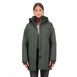 Airforce Tailor Made Parka Groen HRW0415-y01R open main