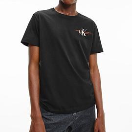 Calvin Klein CK Urban Graphic T-Shirt Zwart J30J318309-BEH model