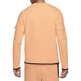 Nike Tech Fleece Sweater Oranje CU4505-835 back