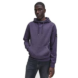 Calvin Klein Monogram Hoodie Violet J30J316551 main model