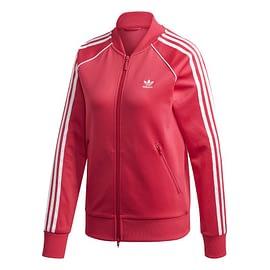 Adidas Primeblue SST Trainingsjack Roze GD2375 front