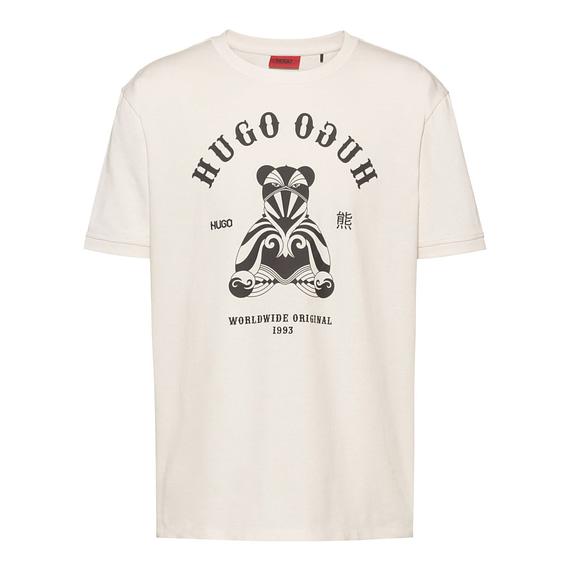 Hugo Boss Duto T-Shirt Wit front main