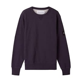 Calvin Klein Monogram Badge Sweater Violet J30J316550 front main
