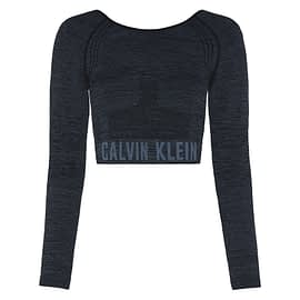 Calvin Klein Cropped Long Sleeve Sport T-Shirt 00GWF0K259 main