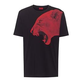 Hugo Boss Denbei T-Shirt Zwart 50450796-001 front main
