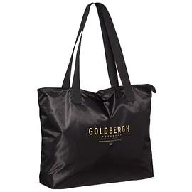 Goldbergh Kopal Shopper Zwart front angle