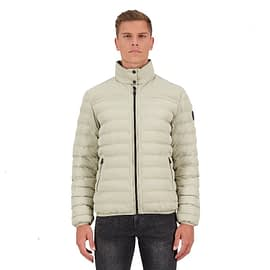 Airforce Padded Jacket Heren Silver Sage FRM0531-912 model front main