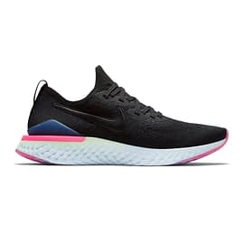Nike Epic React Flyknit 2 Zwart-Roze bq8928-003 side main