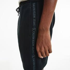 Calvin Klein Logo Short Zwart J30J317377-BEH side