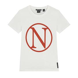 Nik&Nik Kim N T-Shirt Off White