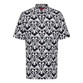 Hugo Boss Ebor Overhemd Zwart front main