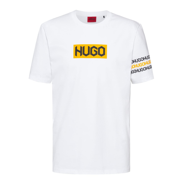 Hugo Boss Dake T-Shirt Wit 50448862-100 front main