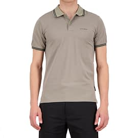 Airforce Double Stripe Polo Beige HRM0655-912-901 main