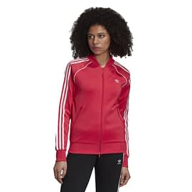 Adidas Primeblue SST Trainingsjack Roze GD2375 front model