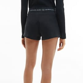 Calvin Klein Trim Knit Short Zwart J20J215561-BEH model back