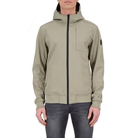 Airforce Softshell Jacket Silver Sage HRM0575-912 model front