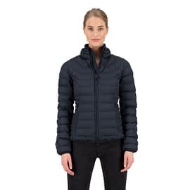 Airforce Padded Jacket Dames Dark Navy FRW0501-552 model front main