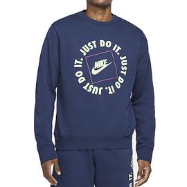 Nike JDI Fleece Sweater Blauw DA0157-410 main