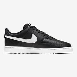 Nike Court Vision Low CD5434-001 Zwart side main