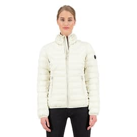 Airforce Padded Jacket Dames Wit FRW0501-y021 model front main