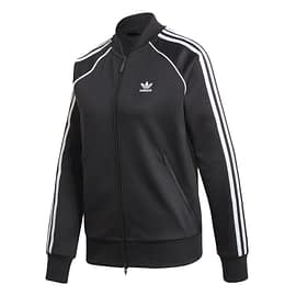 Adidas Primeblue SST Track Jacket GD2374 Zwart-Wit front
