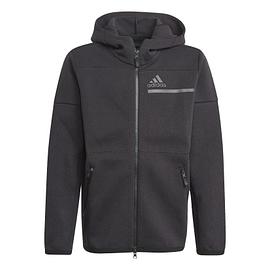 Adidas ZNE hoodie GN9951 Zwart front main