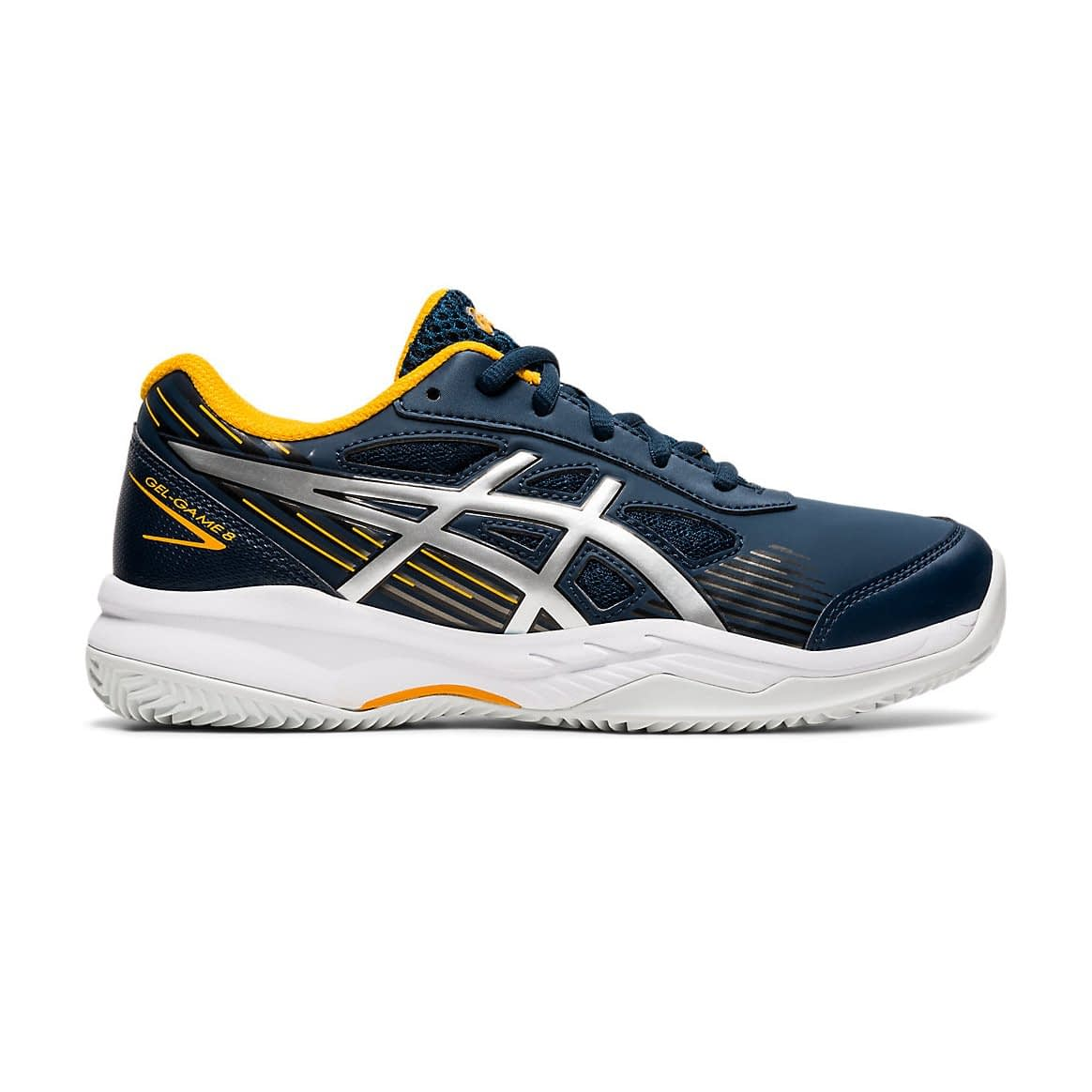 Asics Gel-Game 8 Blauw 1044A024-400 side main
