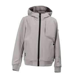 Airforce Softshell Jacket Chestpocket Grijs HRB0575-804 front main