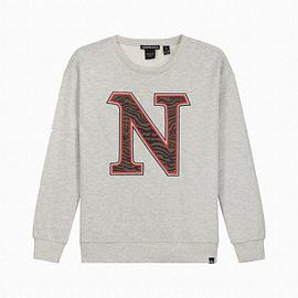 Nik&Nik G8-093 2005 Poloma Sweater Grijs voorkant
