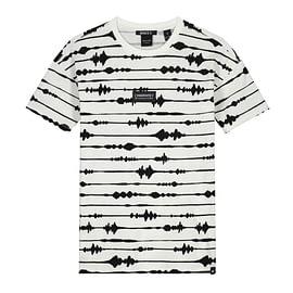 Nik&Nik Ayden T-Shirt Off White front main
