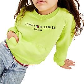 Tommy Hilfiger Essential Sweatshirt Limoen KG0KG05764-LT3 model