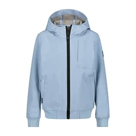 Airforce Softshell Jacket Jongens Skyway Blue HRB0575-y00h front main