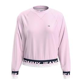 Tommy Hilfiger Branded HEM Sweater Roze DW0DW08979-TOJ main